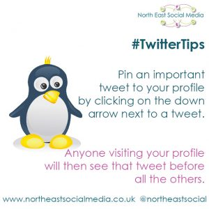 Twitter Tip 7, Social Media North East