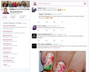 Use of hashtags on Twitter, UK Trends, Social Media Training Gateshead