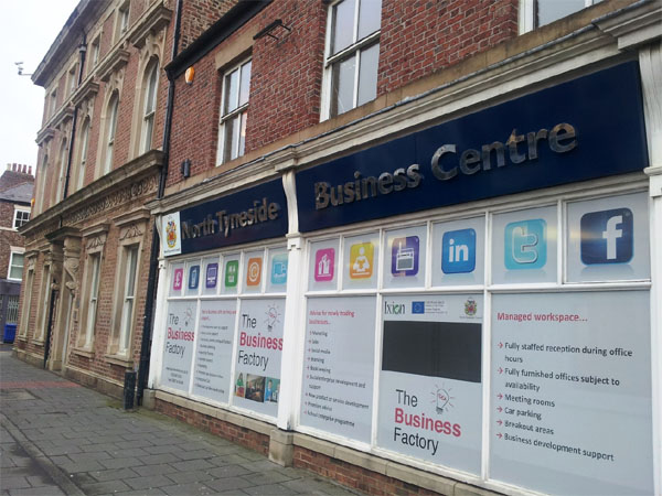 Social Media at The Business Factory North Tyneside