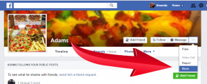 How to block Facebook Followers