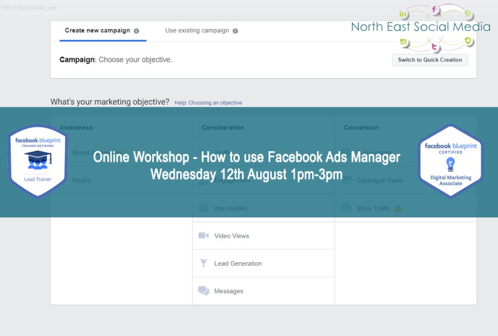 Online Facebook Advertising Workshop