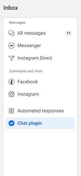 Facebook Chat on Website, plugin